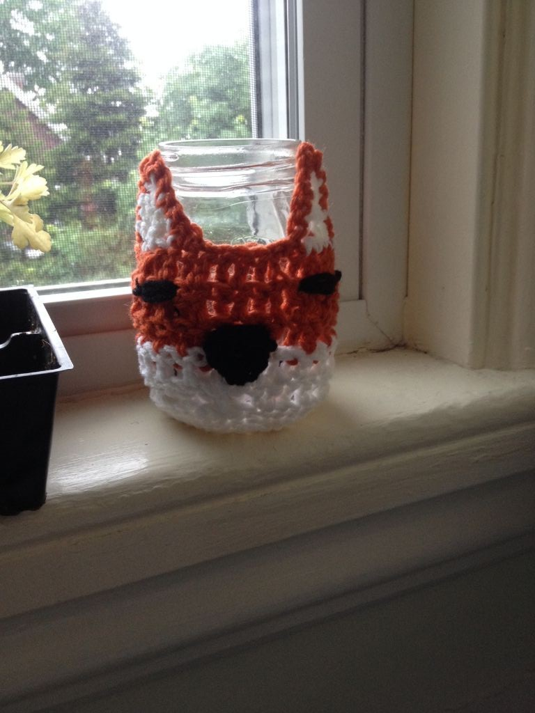 Fox Jar Cozy
